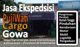 ekspedisi gowa ngawi